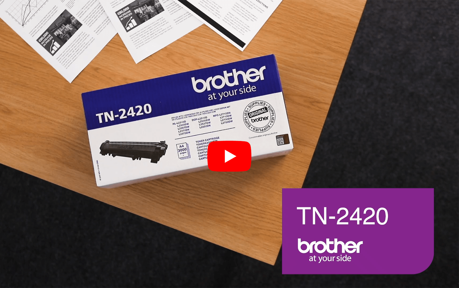 Brother TN-2420 Toner originale - nero 5