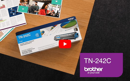 Brother TN-242C Tonerkartusche – Cyan 5