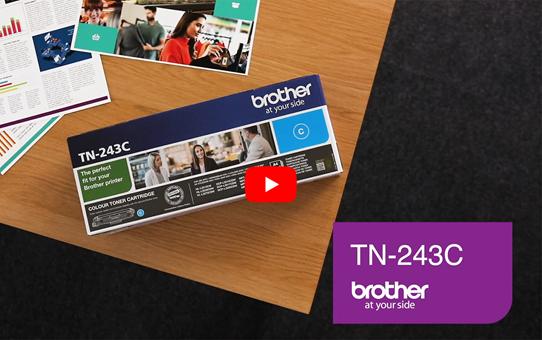 Brother TN-243C Tonerkartusche – Cyan 5