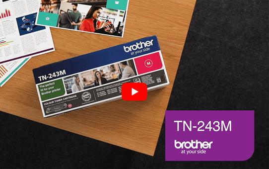 Genuine Brother TN-243M Toner Cartridge - Magenta 5
