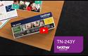 Brother TN-243Y Toner originale - Giallo 5
