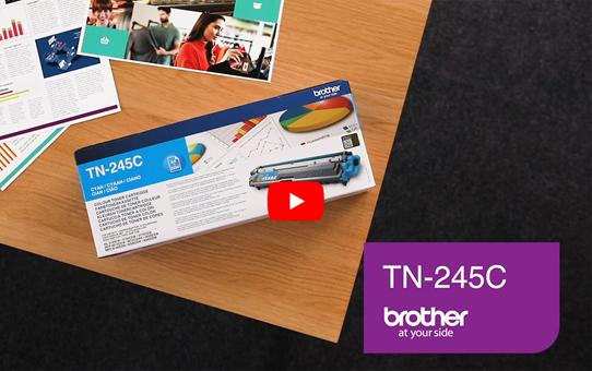 Originele Brother TN-245C cyaan tonercartridge 5