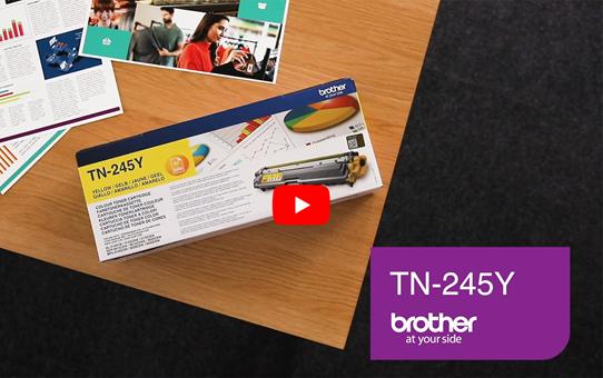 Brother TN245Y toner geel - hoog rendement 5