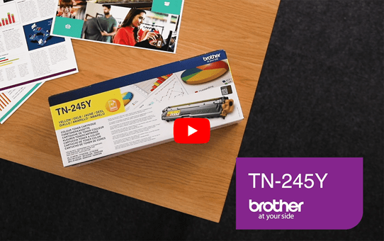 Brother TN-245Y Tonerkartusche – Gelb 5