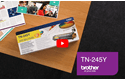 Genuine Brother TN-245Y Toner Cartridge – Yellow 5