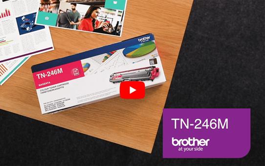 Brother TN-246M Tonerkartusche – Magenta 5