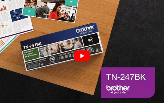 Genuine Brother TN-247BK Toner Cartridge - Black 5