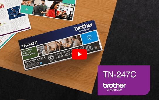 Brother TN247C toner cyaan - hoog rendement 5