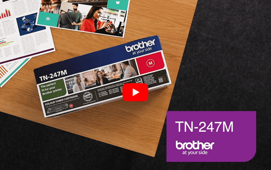 Genuine Brother TN-247M Toner Cartridge - Magenta 5