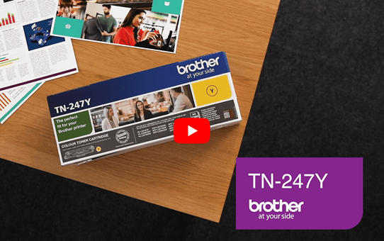 Brother TN-247Y Toner originale ad alta capacità - Giallo 5