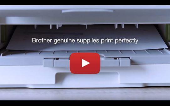 Brother TN321M toner magenta - rendement standard 4