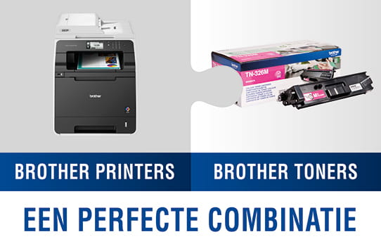 Brother TN325M toner magenta - hoog rendement 3