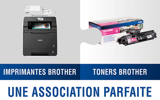 Brother TN325M toner magenta - haut rendement 3