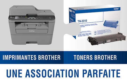Brother TN7300 toner noir - rendement standard 2