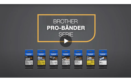 Brother TZe-FX211 Flexi-Tape – schwarz auf weiß 5
