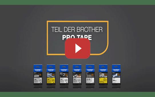 Brother TZe-FX251 Flexi-Tape – schwarz auf weiß 5