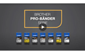 Brother TZe-FX641 Flexi-Tape – schwarz auf gelb 5